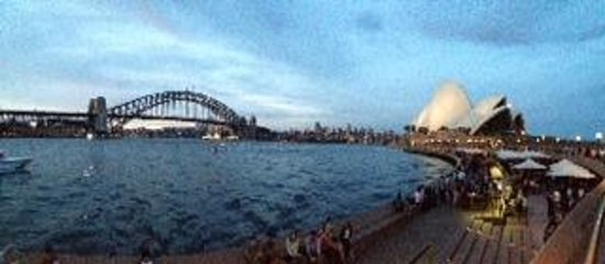 Studio Cafe is at the Opera House itself