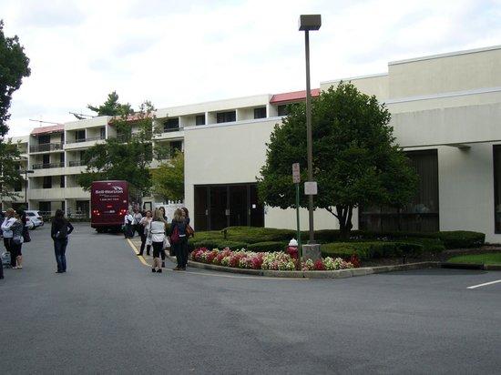 Park Ridge Marriott: Vu arrière de l'hôtel