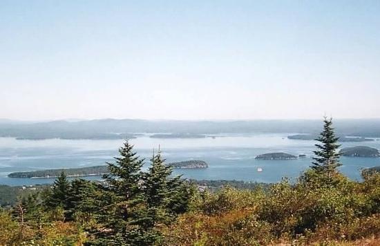 Oli's Trolley - Acadia National Park Tour: View From Cadillac Mountain, Acadia National Park, Maine