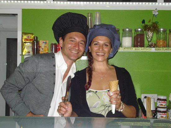Gelateria Italiana Verderosa : een fantastisch duo