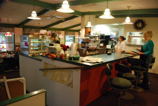 Berry Patch: Inside the restaurant