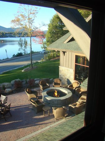 Hampton Inn & Suites Lake Placid: The view from our room