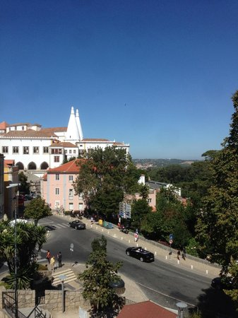 Sintra Boutique Hotel : View from my room's window