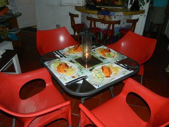 Posada Lizard House: cena invitacion de ernesto y marcela