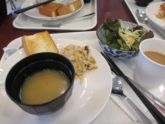 Toyoko Inn Tokushima ekimae: what you may eat