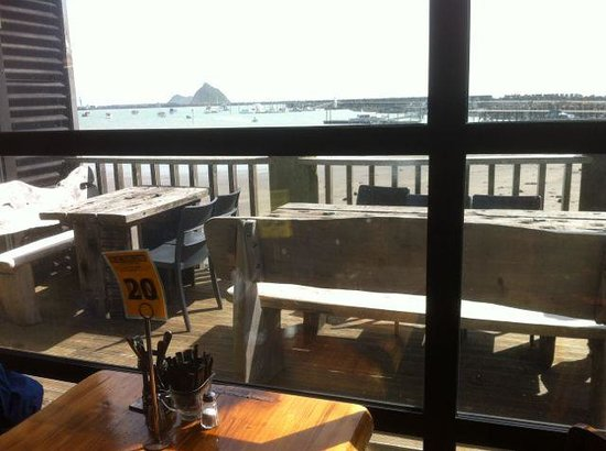 Bach on Breakwater: Our spot in the sun overlooking the view