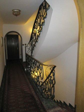Burghotel: hall