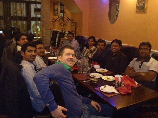 Moghul Indian Restaurant : Citi Group Friends