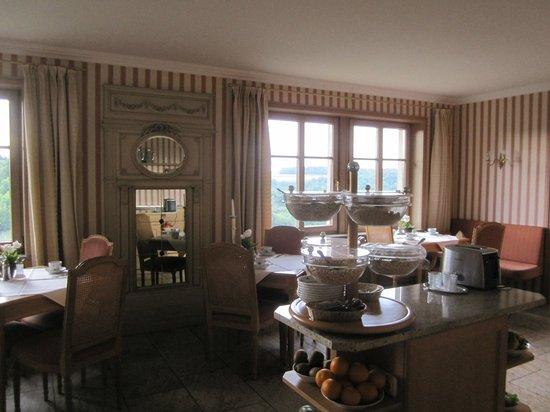 Burghotel: cute breakfast room