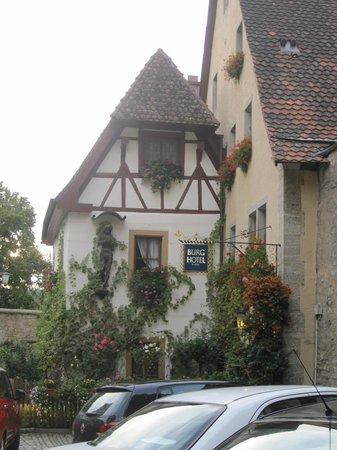 Burghotel: hotel