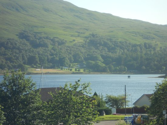 The Neuk Guest House: view from the bedroom