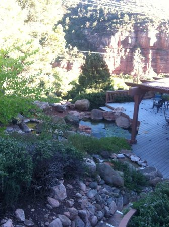 Sedona Views Bed and Breakfast: View from our balcony in Sweet Dreams