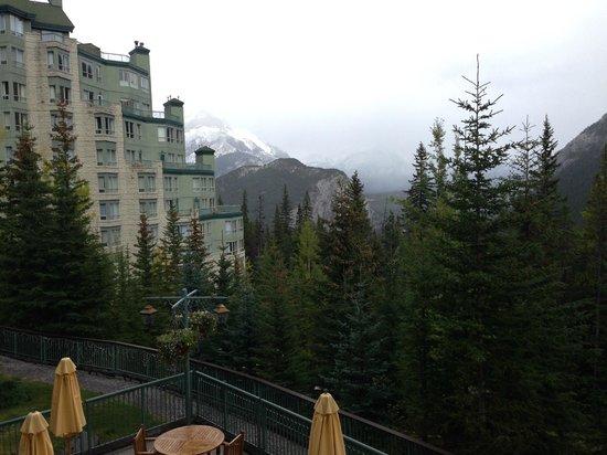 Rimrock Resort Hotel: Balcony view