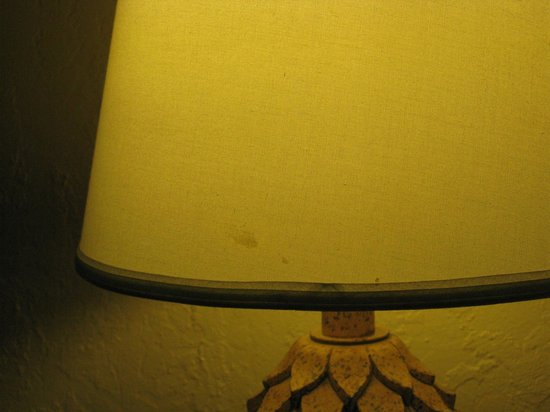 Days Inn South Lake Tahoe: Our lamp shade was stained and filthy