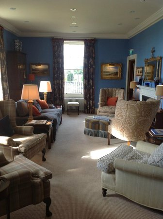 Links House at Royal Dornoch: The Living Room at Links House