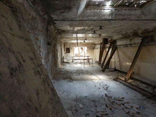 "Eastern State Penitentiary: Where we sensed ""activity"" in the far left corner"
