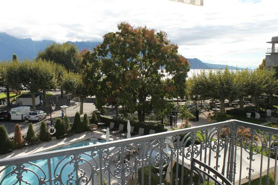 Grand Hotel du Lac: View from our balcony