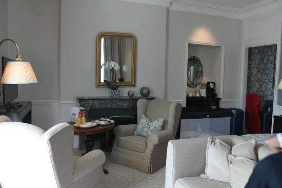Grand Hotel du Lac: Our suite