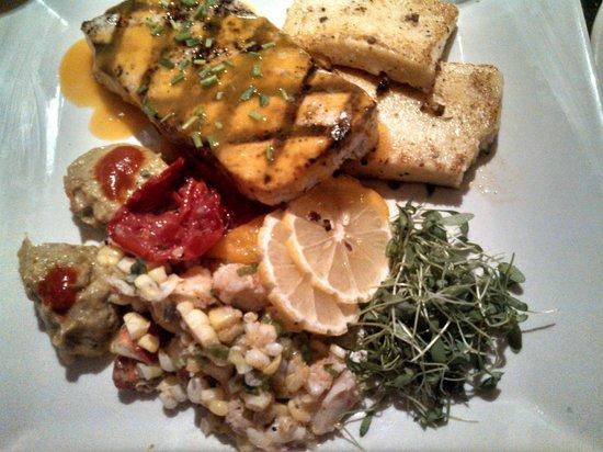 Fresh & Co. : amazing swordfish dinner