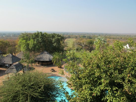 Elephant Hills Resort: View from the bar...