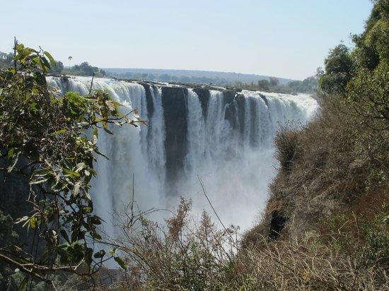 Elephant Hills Resort: Victoria Falls tour.