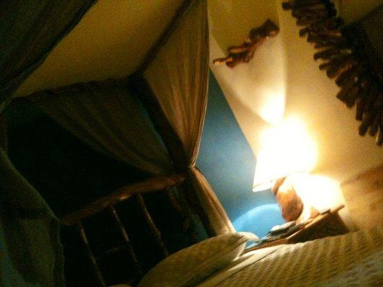 Hotel Cuna Maya: Habitación en Luna Maya