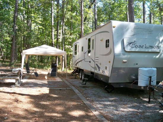 40' Campsite - Picture of F  D  Roosevelt State Park, Warm