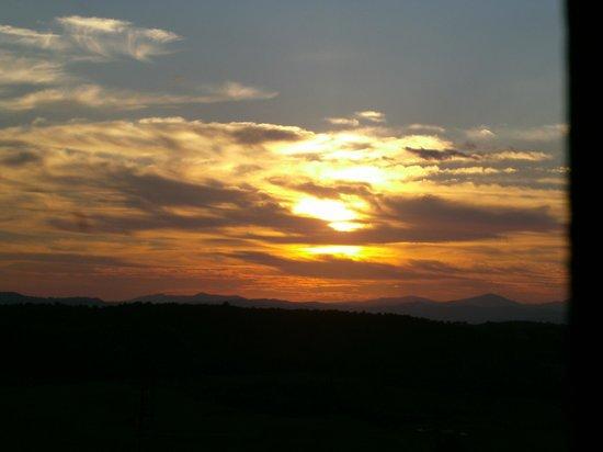 Camere Bellavista: Sunset from Room