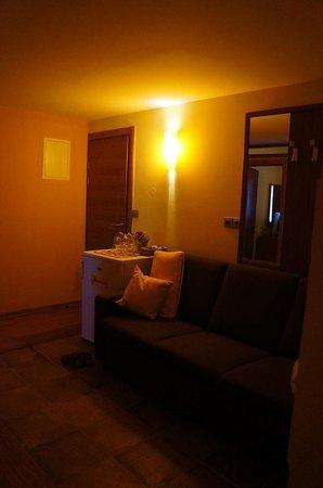 Villa Nora Hvar: 部屋入ってすぐのスペース