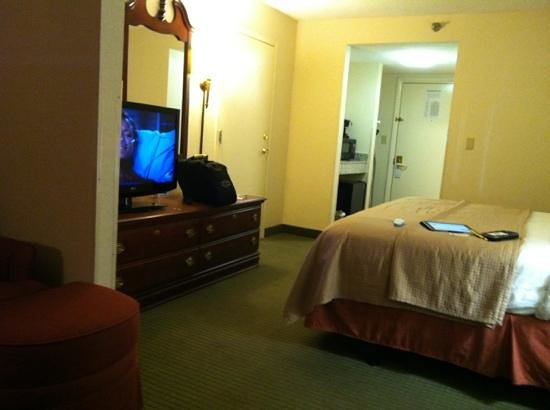 Best Western River City Hotel: large king room