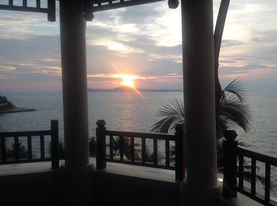 InterContinental Pattaya Resort: sunset view