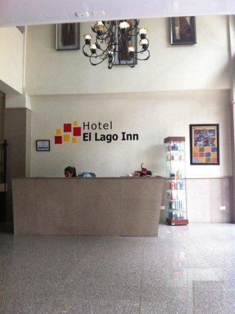 Hotel Suite el Lago Inn : Recepción