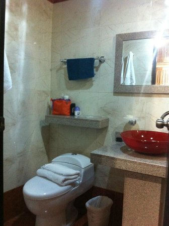Hotel Suite el Lago Inn : Baño