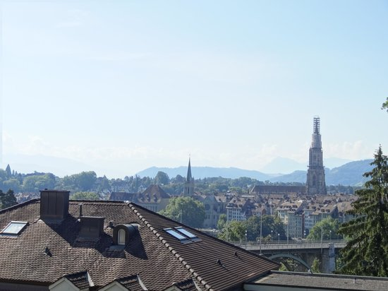 Hotel Allegro Bern : 部屋からの景色