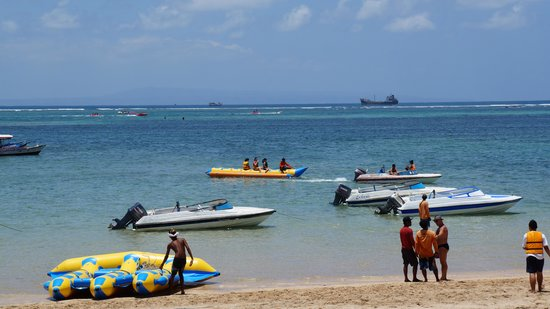 Banana Boat Picture Of Watersport Tanjung Benoa Bali