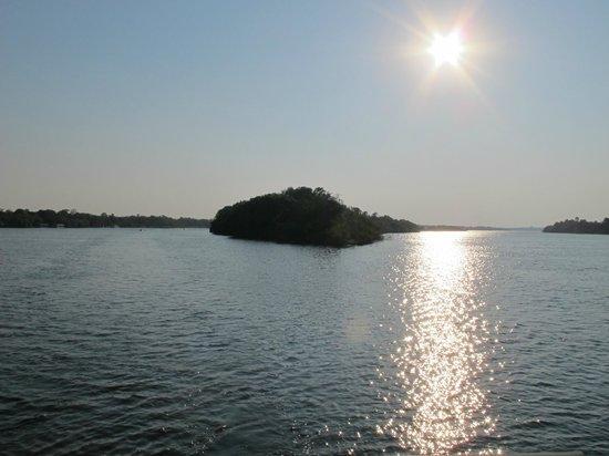 Zambezi River: sunset cruise