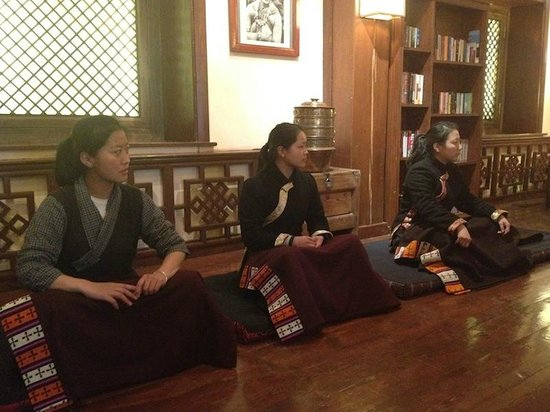Songtsam Shangri-la (Lugu) Hotel: Songtsam Team Meditation