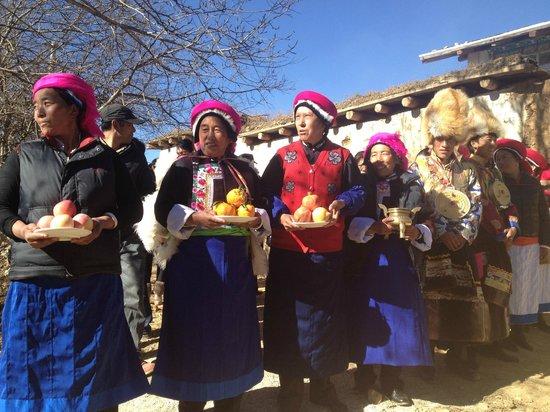 Songtsam Shangri-la (Lugu) Hotel: A wedding in our village