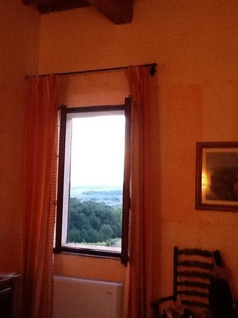 Villa Curina Resort: A room with a view