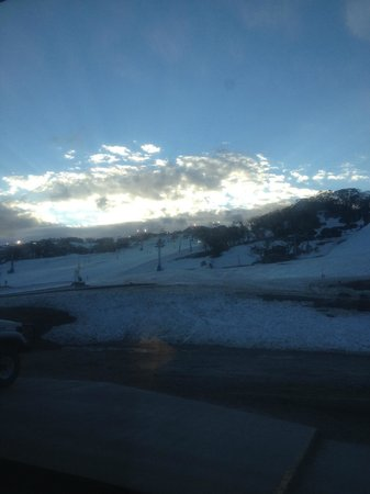 Perisher Valley Hotel : View from the room