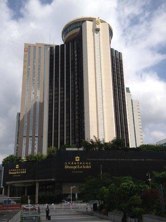 Shangri-la Hotel Shenzhen: Shangri-la Shenzhen frontage