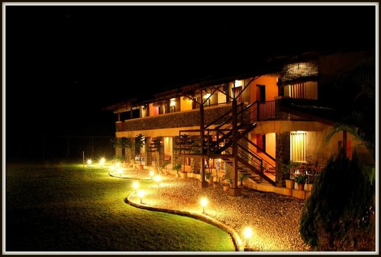 Ekaant the retreat : Ekaant at night