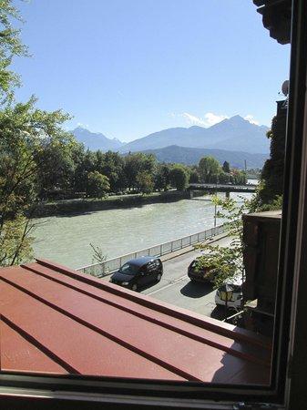 Hotel Heimgartl: River view