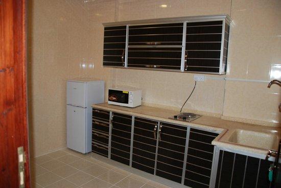 Al Nusl: مطبخ داخل شقة بفندق الارجوانة
