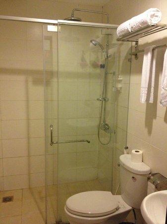 Ha Noi Apple Hotel : Clean restroom