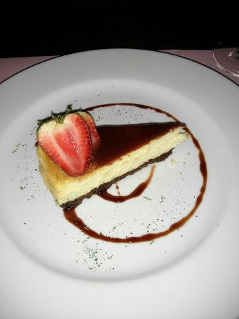 Antigua: Cheesecake squisita