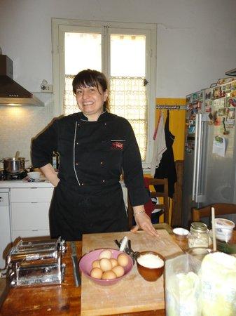 Gourmet Giglio Bianco B&B: Chef Vary
