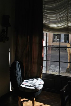 Casa Joaquin Boutique Hotel: Detrás de la ventana
