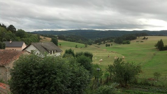 Le Petit Chateau Du Villard : View from our Room