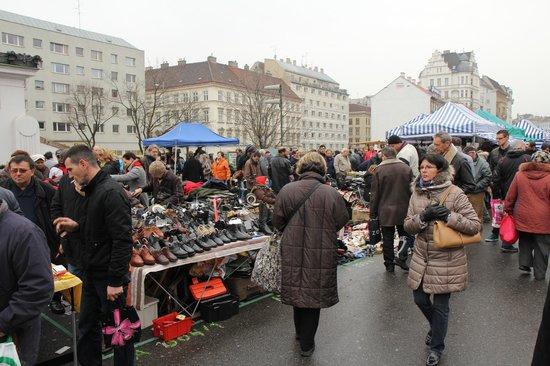 Flea Market: Saturday Weekend Market in Vienna